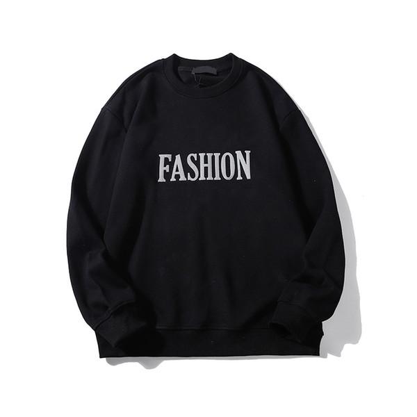 2019 Designer Marca Hip Hop Mens Woemens moleton O-Long Neck Sleeve Carta Imprimir capuz Top Quality Primavera B101645V queda