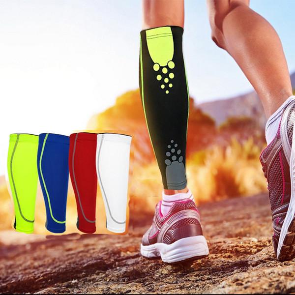 1pcs base layer compression sleeve shin guard cycling leg men women running football basketball sports calf support thumbnail