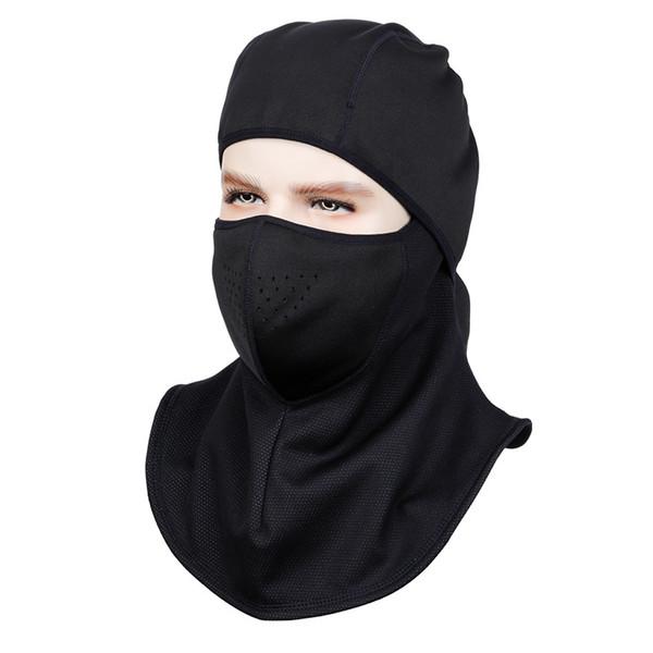 Máscara de esquí de invierno braga cuello Ciclismo Funda facial Térmica Bicicleta Bufanda Sombreros maska do biegania cuello ciclismo Máscaras de esquí calientes