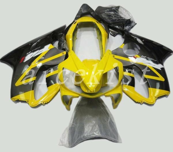 New Injection Mold ABS Fairing kit Fit for HONDA CBR 600 F4i fairings 2004 2005 2006 2007 CBR600 FS F4i 04 05 06 07 custom yellow black