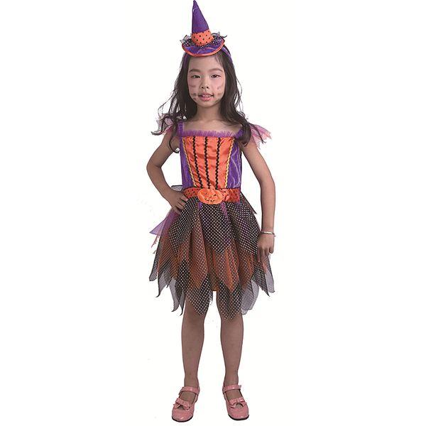 wholesale Carnival Girl Dance Princess Summer Dress Children Show Dress Skirt Baby Performance Serve Halloween cosplay kids Costumes