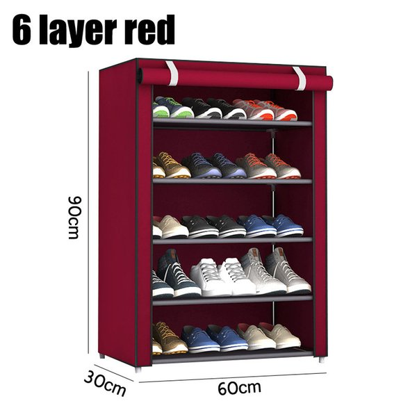 6 layer red