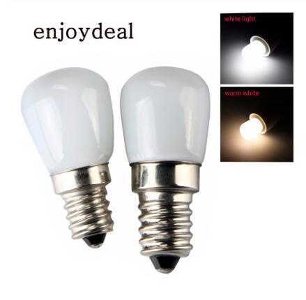 1 PC Mini Réfrigérateur Économie D'énergie Lumière E14 E12 110V 220V LED Lampe 2W Ampoules De Projecteur Congélateur Chaud Blanc / Lumière Blanche