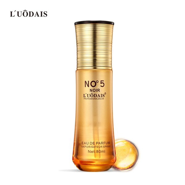 luodais 80ml no.5 perfume leave-in hair care essential oil nourishing morocco argan hair serum wholesale shampoo conditioner
