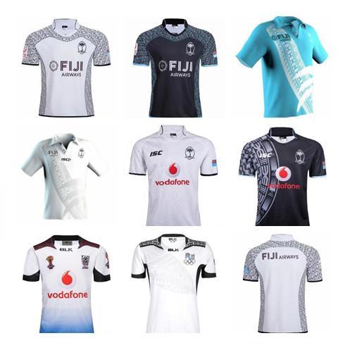 2019 2020 фиджи дом вдали регби Джерси Семерки Olympic рубашка Таиланд качество 18 19 20 Fiji National 7 регби Джерси S-3XL
