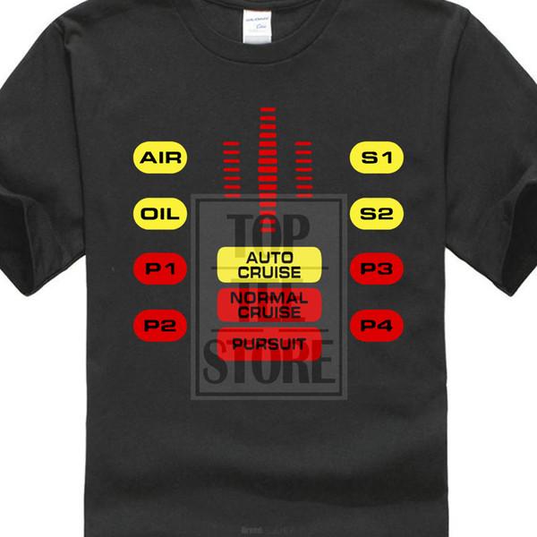 Knight Rider Kit Panneau de configuration T-shirt rigolo pour homme David Hasselhoff La nouveauté de Hoff Original