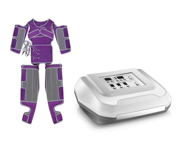 Portátil 2 em 1 pressão de ar infravermelho pressoterapia emagrecimento drenagem linfática máquina de perda de peso para emagrecimento corporal