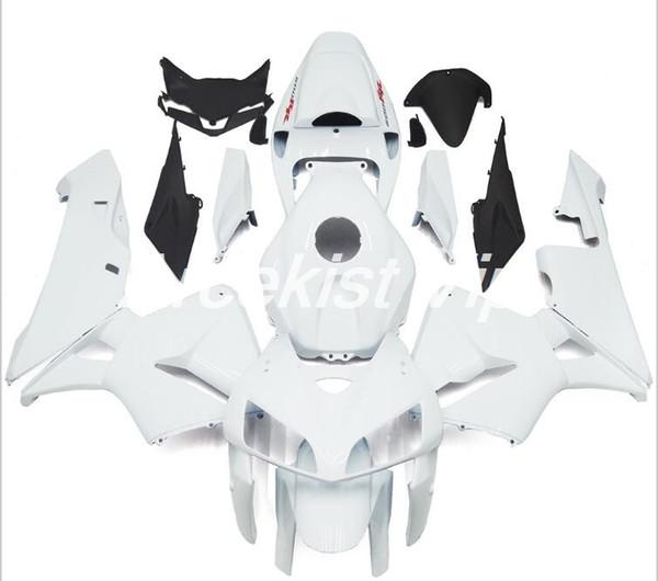 Haute qualité Nouveau ABS Moulage Par Injection moto Carénages Kits 100% Fit Pour Honda CBR600RR F5 05 06 2005 2006 carrosserie set blanc cool