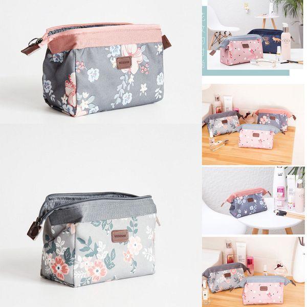Fashion Women Cosmetic Makeup Case Bag Box Waterproof Portable Storage Bag Fashion Makeup