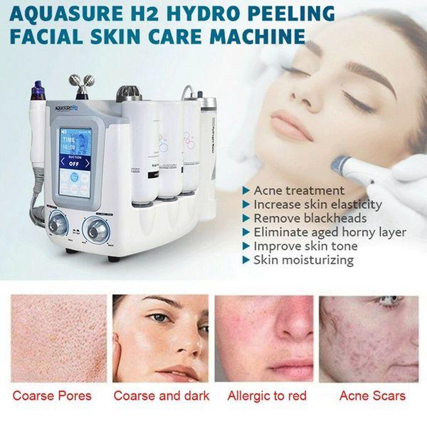 Neue Ankunft Aquasure H2 Hydro Dermabrasion Hydra Gesichtsmaschine BIO Lifting Massage Wasser Peeling Gesichtspflege Tiefenreinigung Anti Aging Gerät