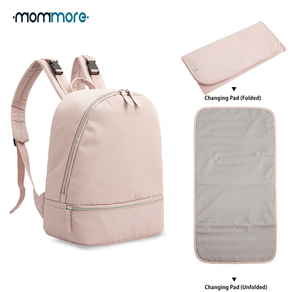 Mommore Small Fashion Backpack Waterproof Travel Diaper With Changing Pad Nursing Bag For Baby Care J190624