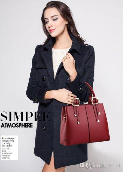 Сумки из натуральной кожи с большой вместимостью Верхние ручки 2019 модных дизайнеров роскошных сумок Аутентичные сумки высшего качества Коричневый персиковый