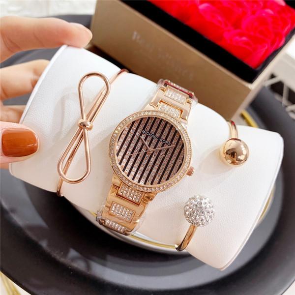insieme dei monili orologio di diamanti guardare marchio top di lusso delle donne di modo delle donne del regalo di Natale della vigilanza femme relogio