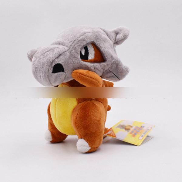 7 inch Pokemons Cubone Plush toys Soft stuffed cute Grab machine Doll For Children birthday best gift