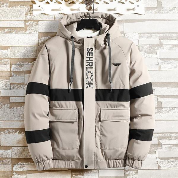 Designer de Luxo Marca Mens inverno do revestimento do revestimento do esporte casacos Jaquetas For Men Moda Carta com capuz Imprimir Top Quality Outerwears B101782V