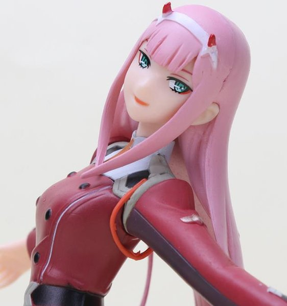 21cm Anime DARLING in the FRANXX Figure Toy Zero Two 02 PVC Action Figure Collection Model Toys Xmas Gifts