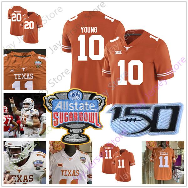 Texas Longhorns Football Jersey College-Collin Johnson B. J. Foster Caden Stearns Jeffrey McCulloch Brandon Jones Joseph Ossai