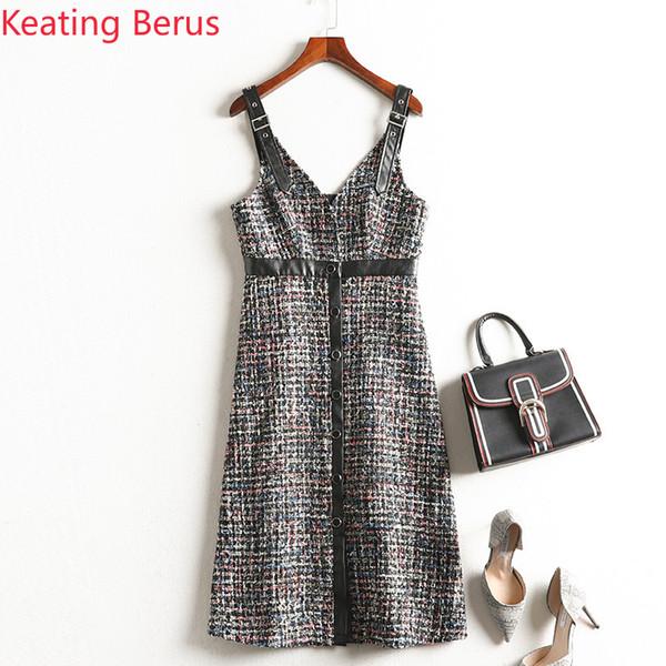 Keatingberus 2019 Новое женское платье в жгутах Super Plus большого размера 5XL Sexy V-образным вырезом Xi Slim Slim Dress Женская одежда 0696