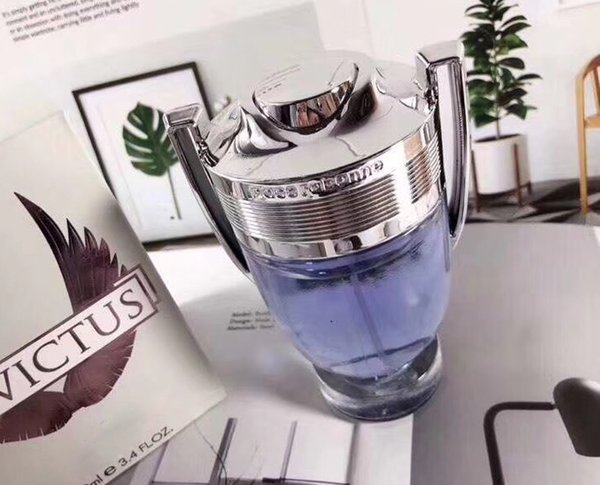 Perfume for Men Invictus Perfume Trophy Design High Quality 100ml/3.4fl.oz EDT Free shipping The Same Brand