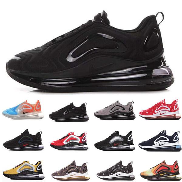 nike air max 720 airmax Top para hombre zapatos diseñadores 72c calidad Total Eclipse Suspensión de luces del norte Día de la Mujer lujo luna Vuelta de futuros zapatillas de depor