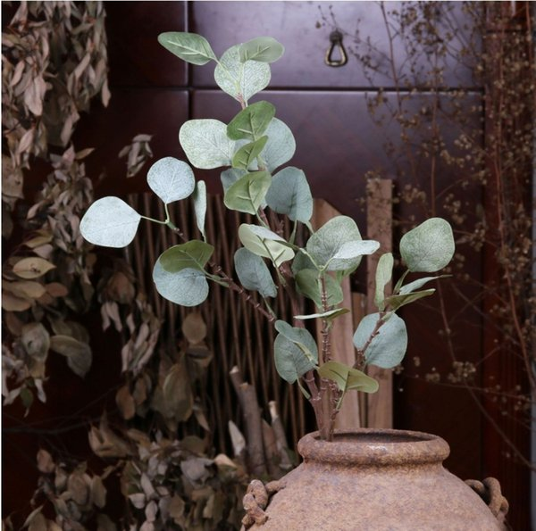 Tropical Leaf for Theme Party Decorations Home garden decor Green Leaf Plastic Flower Home Wedding Party Decoration