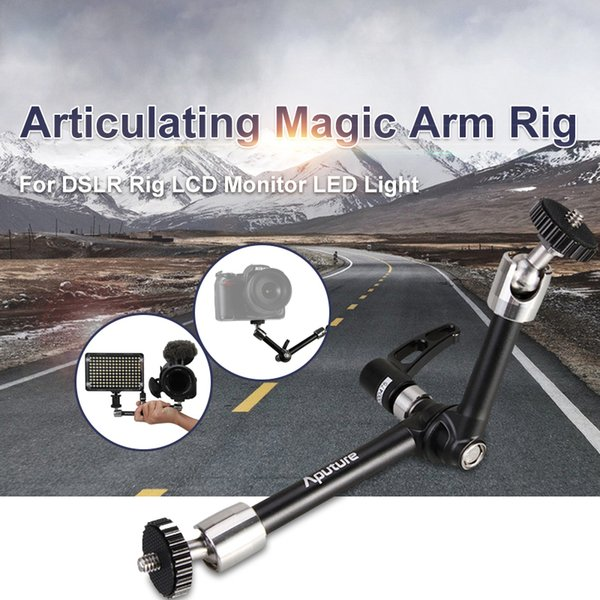 Freeshipping A10 10 inch Articulating Magic Arm Rig for DSLR Rig LCD Monitor LED Light Camera Accessories