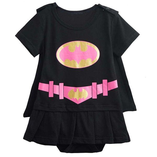 Bat Girl Black