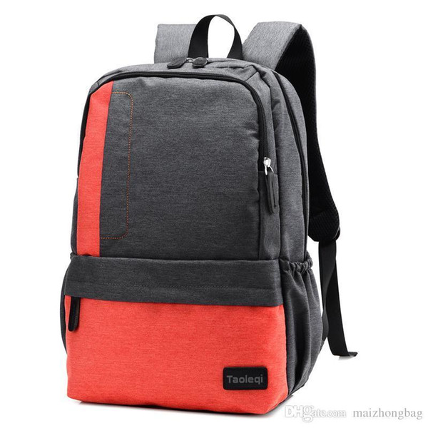 Satchel School Bags For High School Nice New Designer Canvas School Backpack Patchwork Travel Bag High Quality