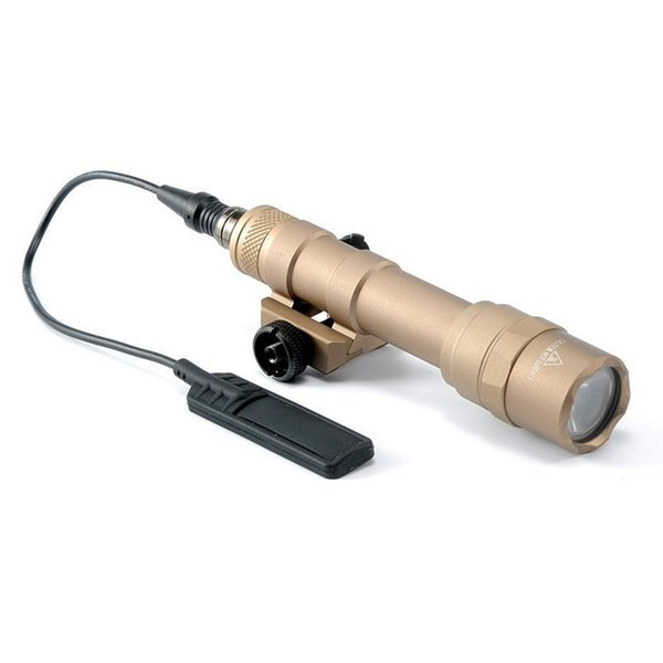 Tactical M600B Scout Light M600 CREE LED White light 400 lumens Hunting Rifle Flashlight with 20mm Weaver Rail Mount