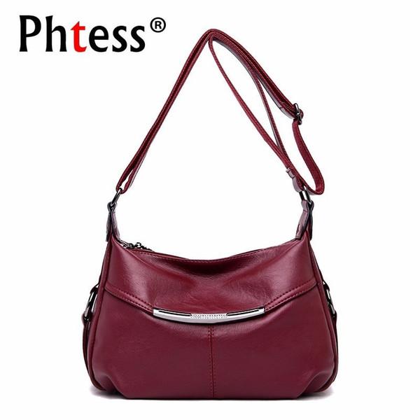 2018 bolsos de lujo bolso de las mujeres diseñador Crossbody bolsos para mujeres Bolsa Feminina mujer Messenger Bag pequeño hombro de cuero # 201339