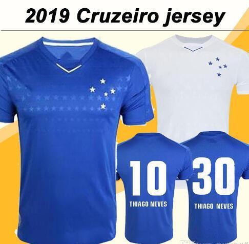 2019 Cruzeiro Soccer Jerseys DE ARRASCAETA THIAGO NEVES Esporte SASSá DANILO camicie uomo Camicie calcio Camisas De Futebol