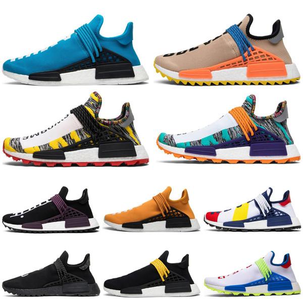 Acheter Pharrell Williams X Adidas NMD Human Race Chaussures Pour Femmes Hommes Chaussures Pharrell Williams X Adidas NMD Human Race Hu Tail Boost