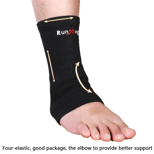 1PC Elastic Ankle Foot Support Basketball Compression Wrap Sleeve Bandage Brace Support Protection Sports Relief Pain #179949