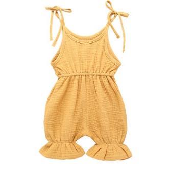 # 4 macacão de bebê de cores sólidas