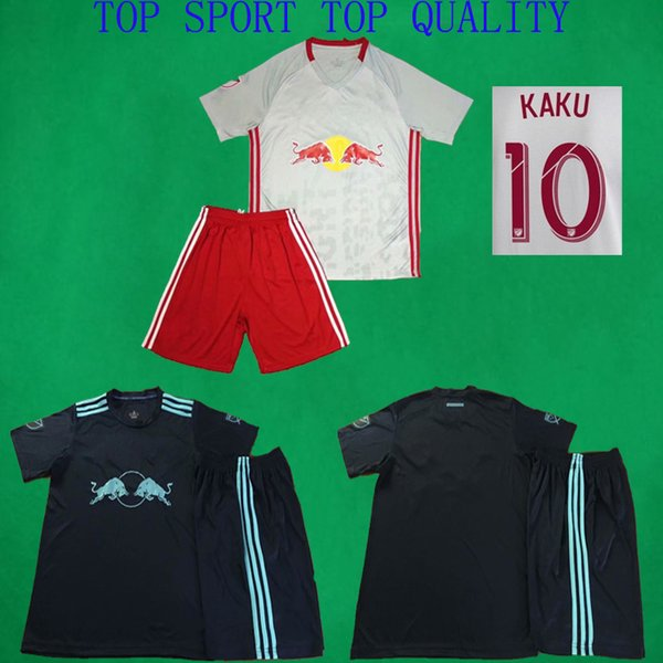 2019 New York Soccer Jerseys Home Away Soccer Kits HENRY ADAMS WRIGHT-PHILLIPS Football Shirts Shorts 19/20 Adult Thai Quality Football Sets
