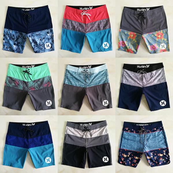 Im freien Strand Shorts 24 Farben Schnell Trocknend Lose Badehose Lässige Badebekleidung Fit Männer Wasserdicht Komfortable Kurze Hosen ZZA956