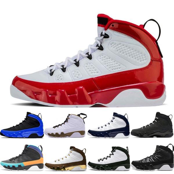 retros shoes Sıcak satış 9 9 s Bunu Bunu Yapmak Erkek Basketbol Ayakkabı Tasarımcılar erkekler Siyah beyaz UNC 2010 RELEASE Paspas Melo sporst sneakers eğitmenler