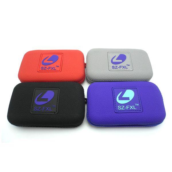 Original Silicone Zipper Case for Pod Vape devices by SZ-FXL 4 Colors Tool Carry bag dry herb vaporizer Mods e cigarette DHL