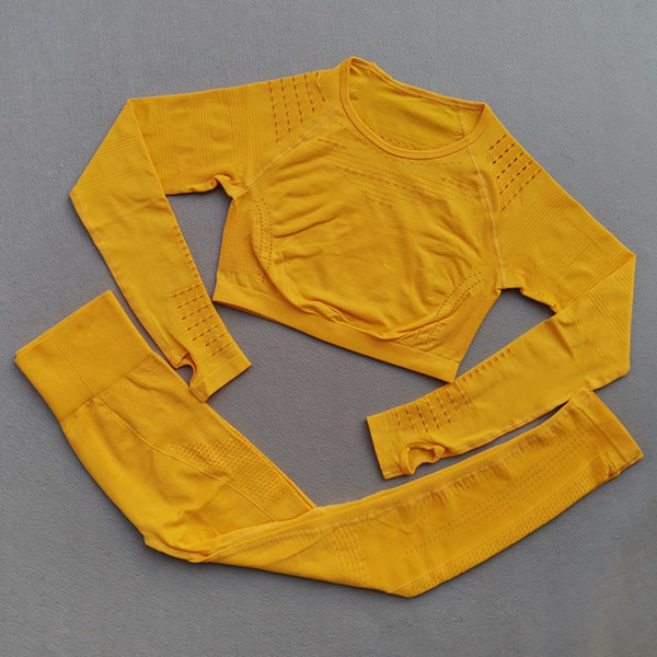 Yellow 2pcs set
