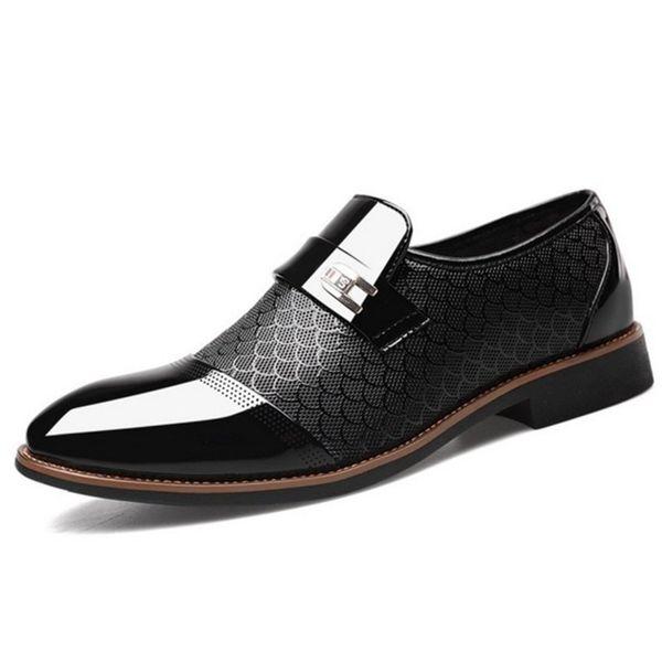 Zapatos Oxford para hombres Mocasines Slip on Hombres Zapatos de vestir Zapatos de hombre Vestir Formal Sapato Social