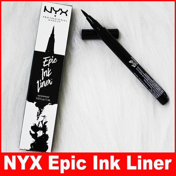NYX Epic Ink Liner nyx Black Eyeliner Matita Headed Makeup liquido Colore nero Eye Liner Cosmetici impermeabili di lunga durata