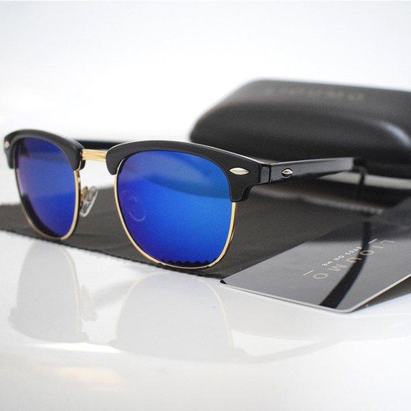 Lenses Color:A-black-blue
