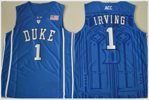 Duke Blue Devils # 1 Irving -V collo blu