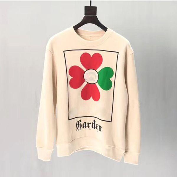 best selling Designer Sweatshirts Long Sleeve T Shirts Men White black Hoodies fashion Brand Top Autumn Spring women luxury clothing unisex Sweater S-XL