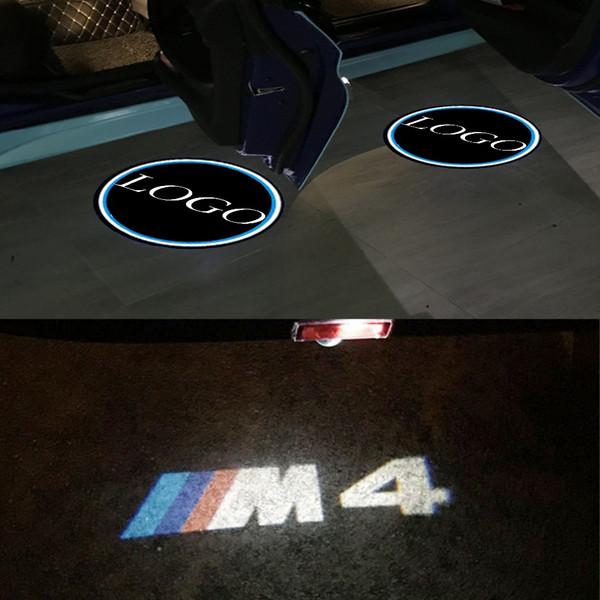 Maxup 1set M4 porta sinal Car Light Bem-vindo Para BMW E90 E91 E92 E93 M3 M5 M6 F10 F12 F07 F13 F15 F16 F01 F02 Laser GTX-SERIES Z4