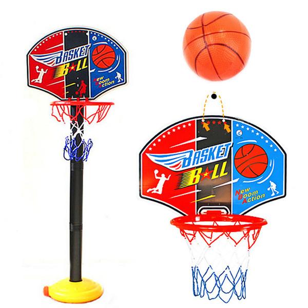 115cm Basketball Hoop Stand Toy Set for Child Kid Adjustable Outdoor Game Development of Boy Interesting Indoor Sport Tool Kit