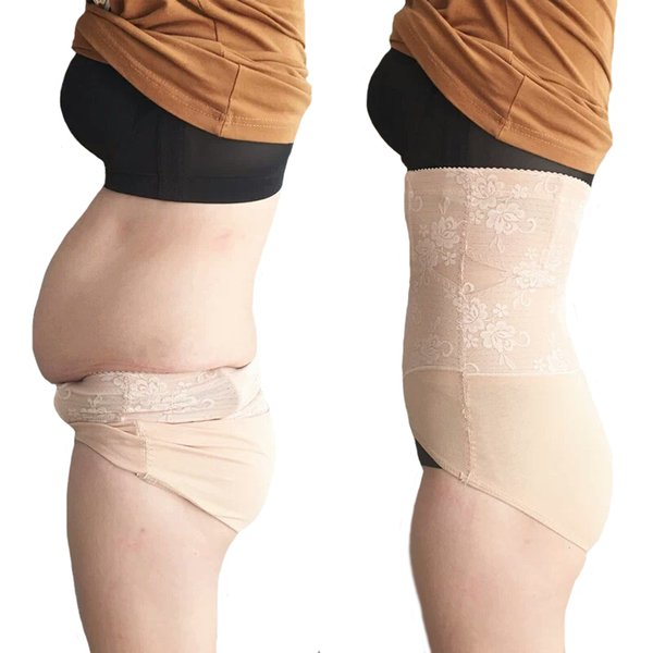 High Waist Shaping Tummy Control Panties Women's Tights Slimming Briefs Underwear Postpartum Repair Body Shaper Hips For 42-75KG