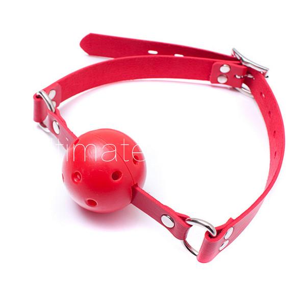 Plastic Gag Leather Adjustable Lockable Belt Pig Dog Slave Training Gear Bondage BDSM Kit Sex Toy Adult Products