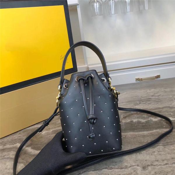 Diseñador de las mujeres bolsos F 1117 bolsas de cubo cuero genuino superior excelente calidad monederos bandolera bandolera bolsa de compras de lujo del totalizador