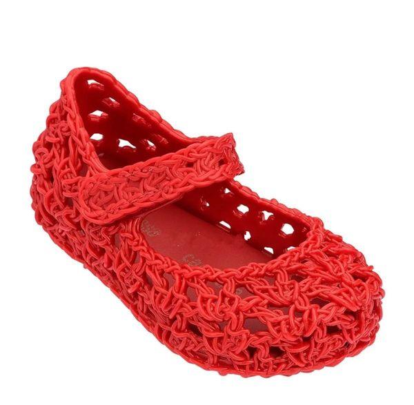 Sandali per la ragazza Baby Kids Pure Colour svuotando i sandali del bambino Bambino Morbido suola Jelly Shoes 2019 New Fashion Infant Shoes F786